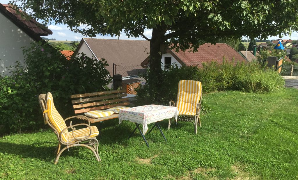 Waldviertel Ferienwohnung Garten